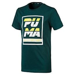 キッズ ALPHA SS グラフィック Tシャツ 半袖, Ponderosa Pine, small-JPN