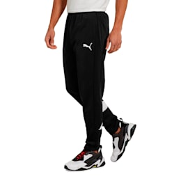 CAT ICON TRICOT PANTS, Puma Black-Puma White, small
