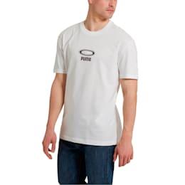 OG Men's Tee, Puma White-White logo, small