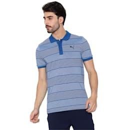 Stripe Pique Polo 1