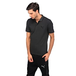 Active Hero Polo, Dark Gray Heather, small-IND