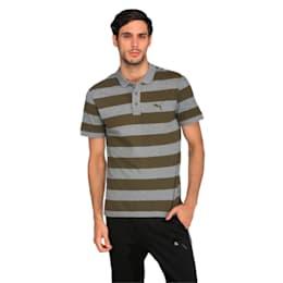 ESS Striped Pique Polo