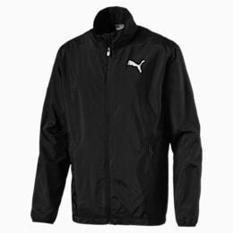 Active Full Zip Men's Jacket, Puma Black, small