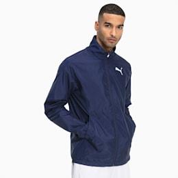 Active Full Zip Men's Jacket, Peacoat, small
