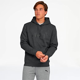 Essentials Men's Fleece Hoodie, Dark Gray Heather, small