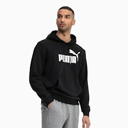 Essentials Men's Hoodie, Puma Black, small