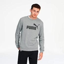 Essentials Men's Crewneck Sweatshirt, Medium Gray Heather, small