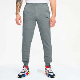 Essentials Men's Sweatpants, Medium Gray Heather-Cat, small