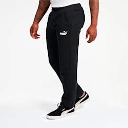Pantalones de polar Essentials para hombre, Puma Black, pequeño