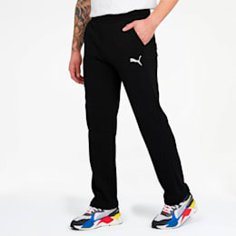 Essentials Men's Sweatpants, Puma Black-Cat, small