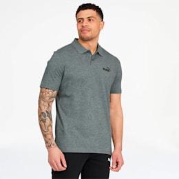 Essentials Men's Jersey Polo, Medium Gray Heather, small