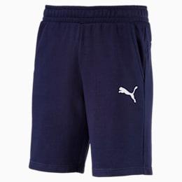 Essentials Men's Sweat Shorts, Peacoat-Cat, small