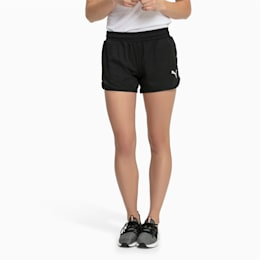 Active Woven Women's Shorts, Puma Black, small