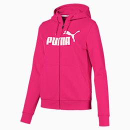 Essentials Fleece Hooded Full Zip Women's Sweat Jacket