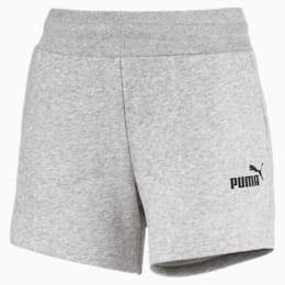 Essentials Women's Sweat Shorts, Light Gray Heather, small