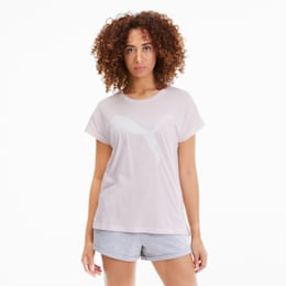 Active Women's Logo Tee, Rosewater, small