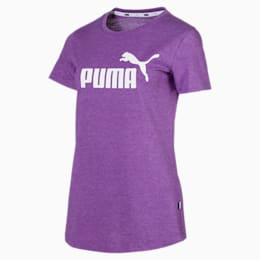 Essentials + Women's Heather Tee, Royal Lilac, small