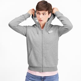 Essentials Sherpa Hooded Women's Jacket, Light Gray Heather, small-IND