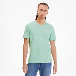 Essentials+ Men's V Neck Tee, Mist Green, small