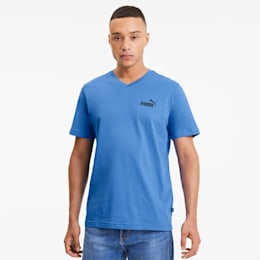 Essentials+ Men's V Neck Tee, Palace Blue, small