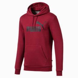 Essentials+ Men's Fleece Hoodie, Rhubarb Heather, small