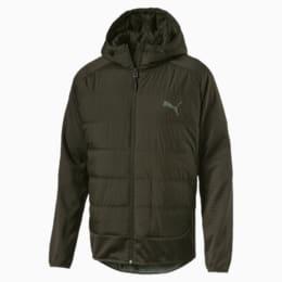 Hybrid Men's Padded Jacket, Forest Night, small