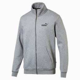 Essentials Fleece Men's Track Jacket, Medium Gray Heather, small-IND