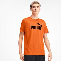 Essentials Men's Logo Tee, Jaffa Orange, small