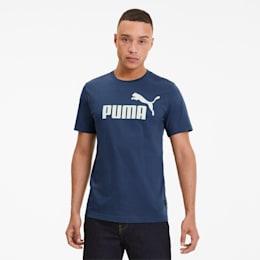 T-shirt Essentials para homem, Dark Denim, small