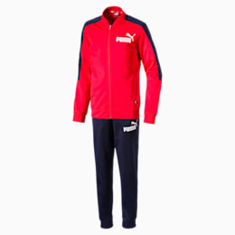 Baseball Collar Boys' Track Suit