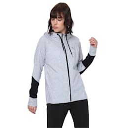 Womens Hooded Sweat Jacket