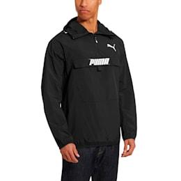PUMA Men's Half Zip Jacket, Puma Black, small