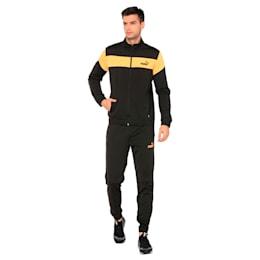 Clean Tricot Men's Track Suit, Puma Black, small-IND