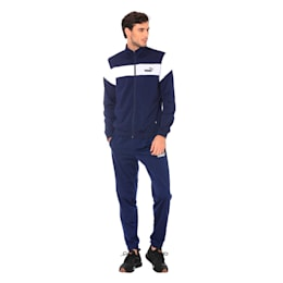 Clean Tricot Men's Track Suit, Peacoat, small-IND