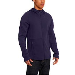 Evostripe Move Hooded Jacket, Peacoat, small