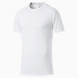 Evostripe Lite Men's Tee, Puma White, small
