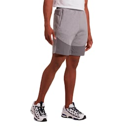 Evostripe Lite Men's Shorts, Medium Gray Heather, small