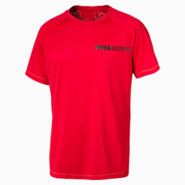 Active Tec Sports Men's Tee, High Risk Red, small-SEA