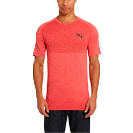 Tec Sports Men's evoKNIT Tee, High Risk Red, small