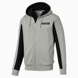 Rebel Hooded Jacket, Limestone, small
