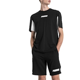 Rebel Herren Shorts, Cotton Black, small