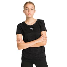 evoKNIT Core Seamless Damen T-Shirt, Puma Black, small