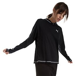 Top liviano Modern Sports para mujer, Cotton Black, pequeño