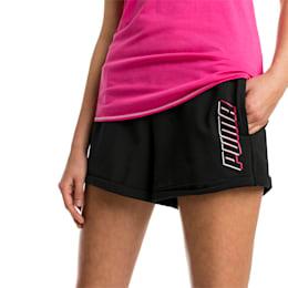 Modern Sports Women's Shorts, Cotton Black, small