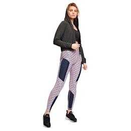 Soft Sports Drapey Full Zip Women's Jacket, Puma Black Heather, small-IND