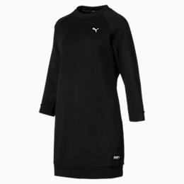 Athletics Women's Sweat Dress, Puma Black, small-SEA