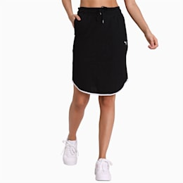 Summer Skirt, Cotton Black, small-IND
