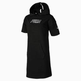 Alpha Hooded Girls' Sweat Dress
