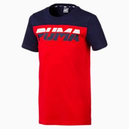 Alpha Trend Jungen T-Shirt, High Risk Red, small