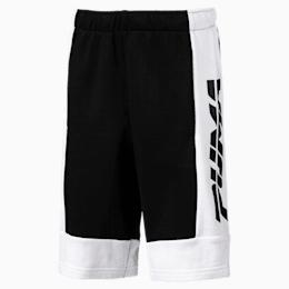Bermuda de sweat Alpha pour garçon, Cotton Black, small